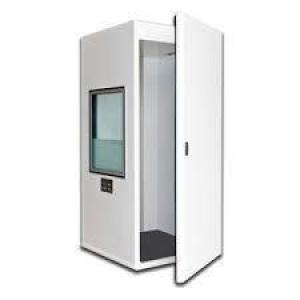 Cabine de audiometria portatil